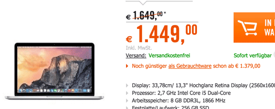 Macbook Studenten Rabatt